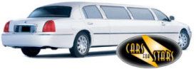 Limo Hire Walsall - Cars for Stars (Walsall) offering white, silver, black and vanilla white limos for hire
